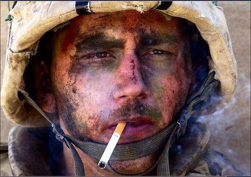 写真:心的外傷後ストレス障害